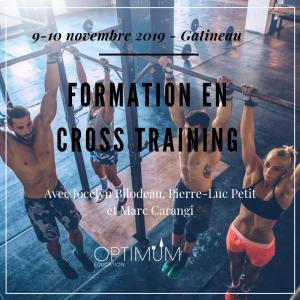 Formation crosstraining 9-10 novembre 2019 (site)