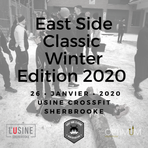 Site internet - Compé East Side Classic - winter 2020